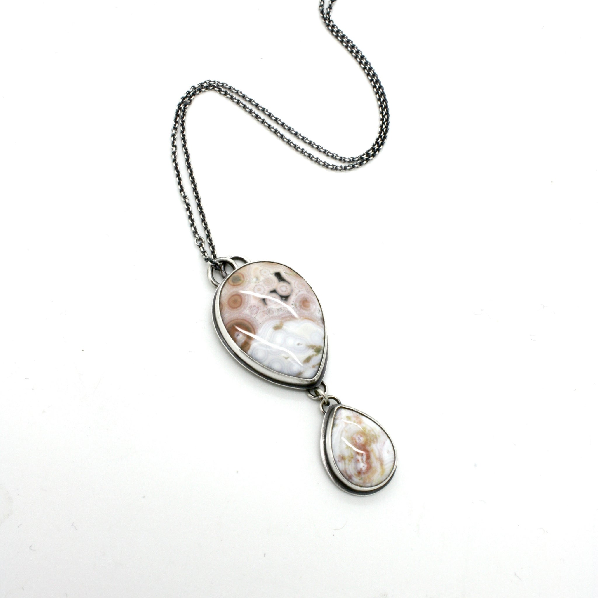 Double Ocean Jasper Necklace