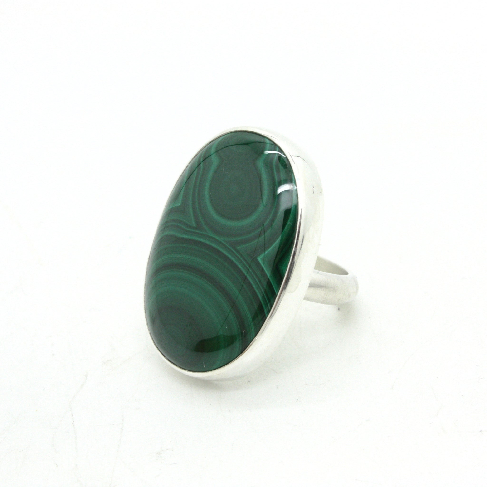 Malachite Ring no.2  | Size 7.75