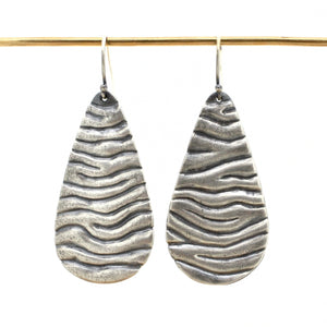 Grand Tidal Teardrop Earrings