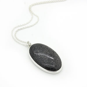 Midnight Quartzite Necklace