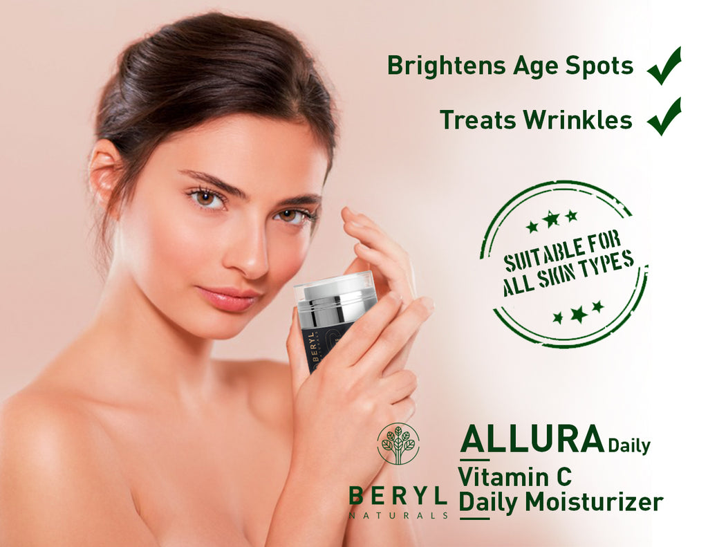 Organic face moisturizer for women - Beryl Naturals