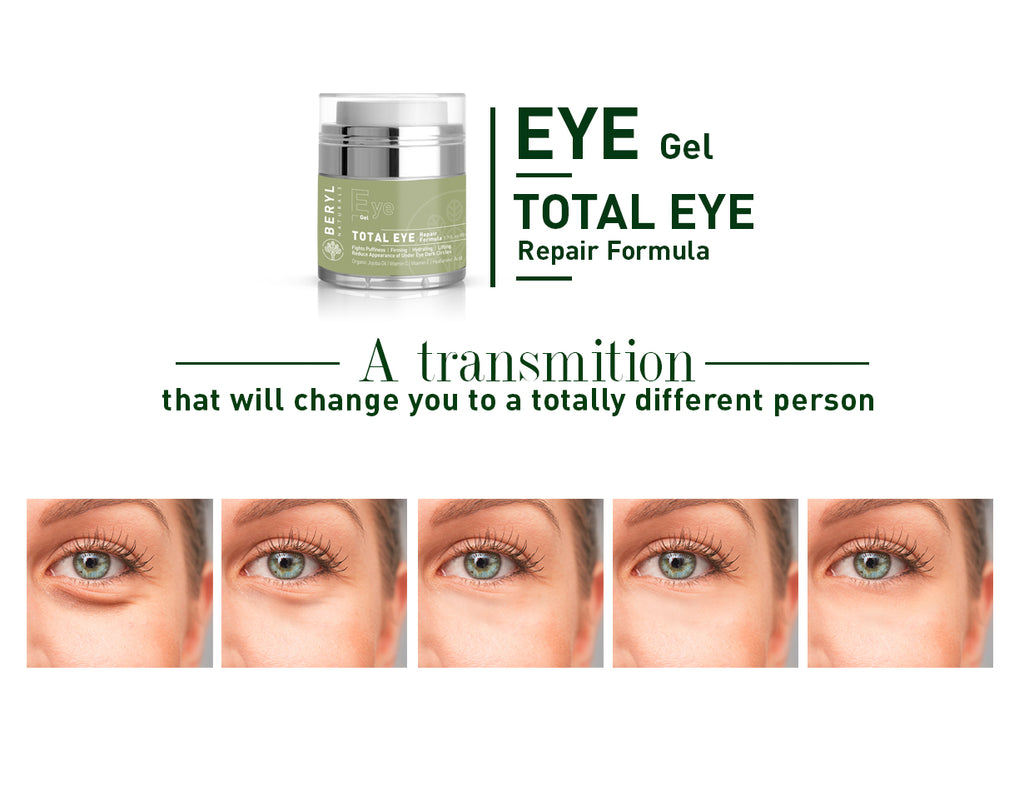 Total Eye Repair Formula for beautiful eyes | Beryl Naturals