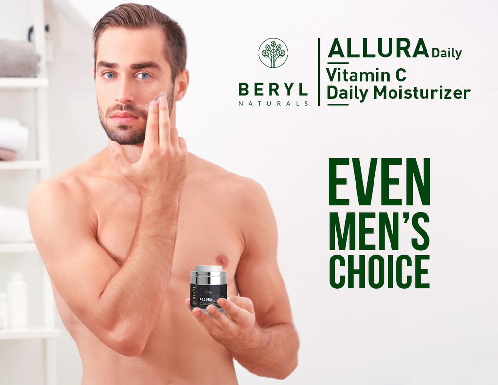 face moisturizer for men - Beryl Natural