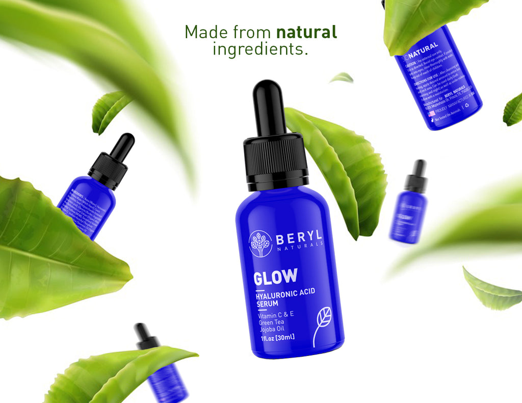 Natural Anti-aging Serum - Beryl Naturals