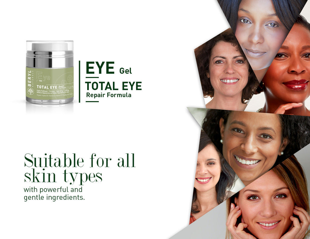 Total Anti-Aging Eye Cream For Dark Circles | Beryl Naturals