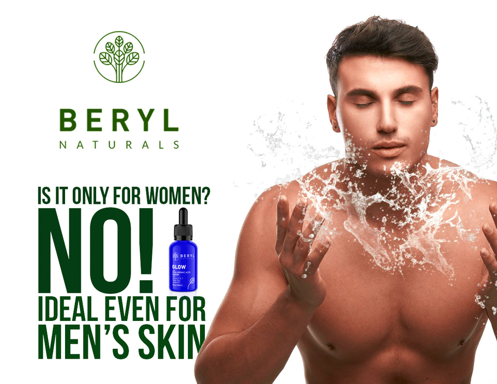 Anti-aging Serum for Men -  Beryl Naturals