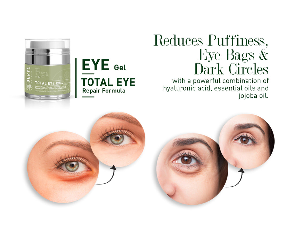 Anti-Aging Eye Cream for puffiness and dark circles | Beryl Naturals