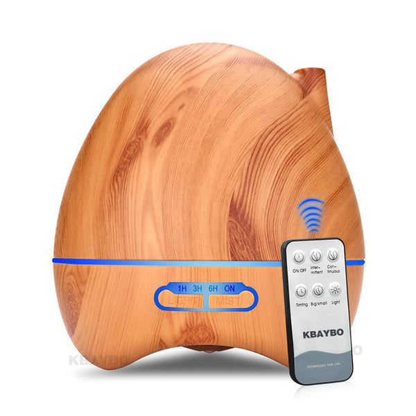 Essential Bamboo Oil Diffuser Model E