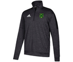 GVLFC Official Crest Adidas Quarter Zip - Black