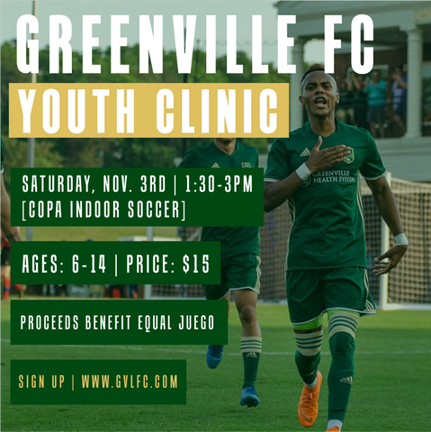 GVLFC x EQUAL JUEGO - YOUTH CLINIC
