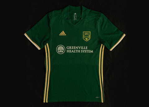 GVLFC 2018 HOME JERSEY - GREEN/GOLD