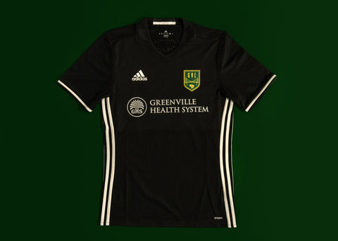 GVLFC 2018 AWAY JERSEY - BLACK/WHITE