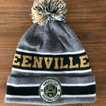 GVLFC Beanie - Grey/Green/Gold