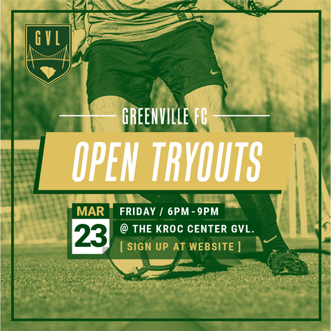 GVLFC 2018 OPEN TRYOUTS