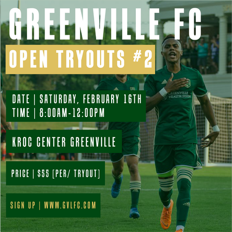GVLFC 2019 OPEN TRYOUTS #2 [2/16/19]