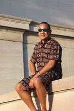 Load image into Gallery viewer, Men's Tribal shirt and shorts
