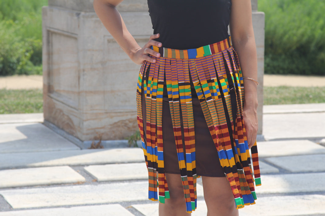Fall Fringe skirt