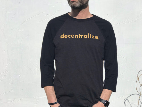 Decentralize Baseball Shirt