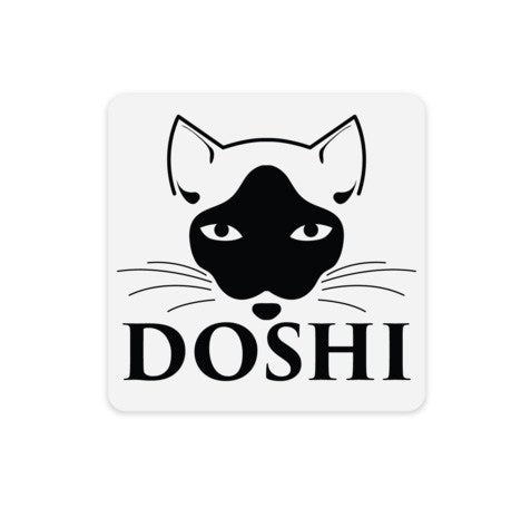 Doshi Face Clear Sticker
