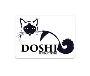 Doshi Productions Sticker