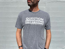 New: Question Everything Heather Grey