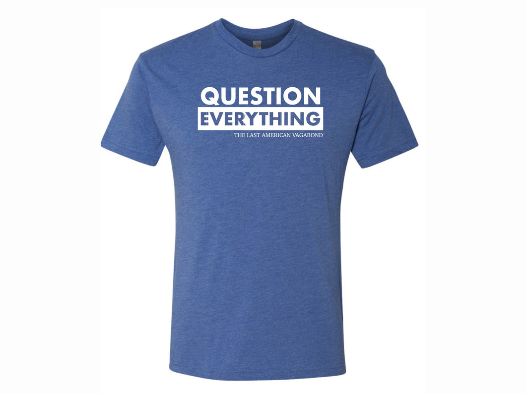 Preorder: Question Everything Blue