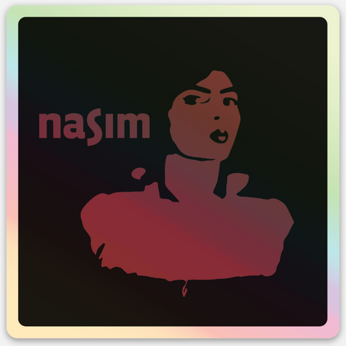 Vert Limited Edition! Nasim Holographic Sticker