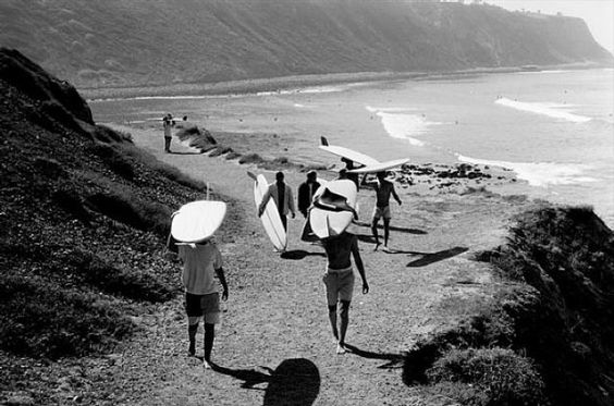 Palos Verdes Cove, circa 1940. Photo: Leroy Grannis