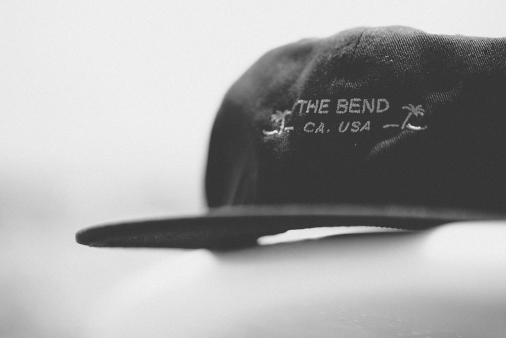 BEND CAP | BLACK