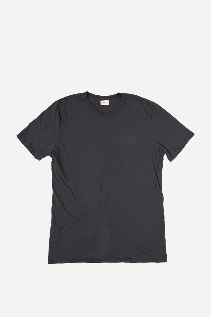 BEND TEE | DUSTY BLACK