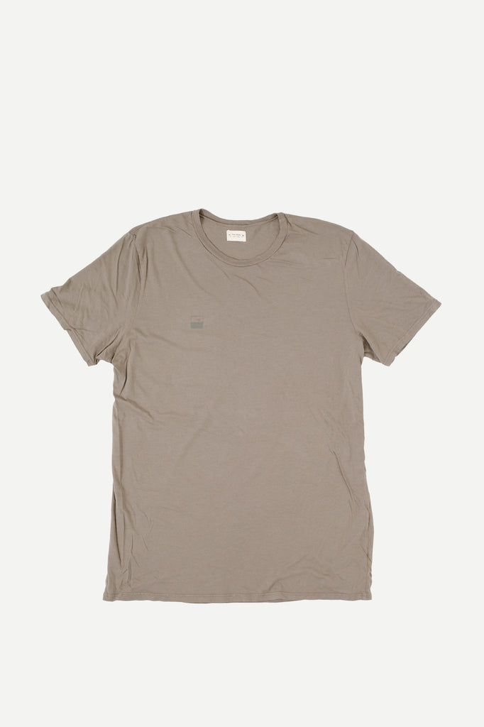 PALM TEE | DUSTY OLIVE
