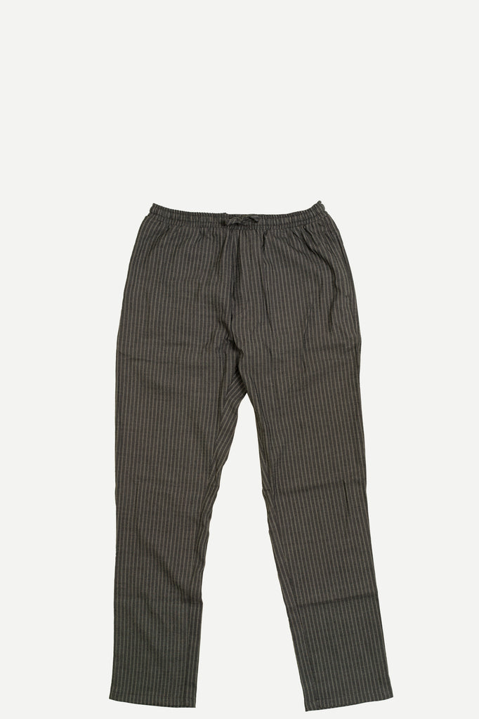 WALKER PANT | CHARCOAL STRIPE