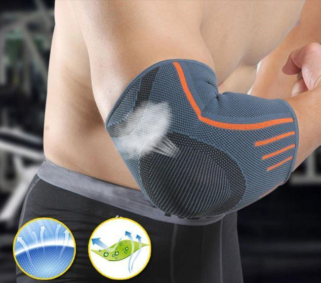 Breathable Compression Sleeve Elbow Brace | Support Protector