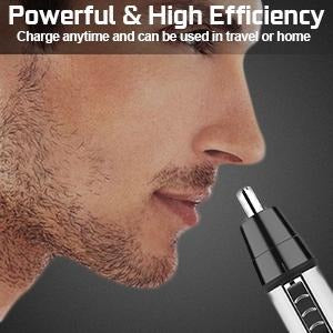Nose Hair Trimmer | Effective Hair Removal For Ears | 3 in 1 Kit - Go Young!
