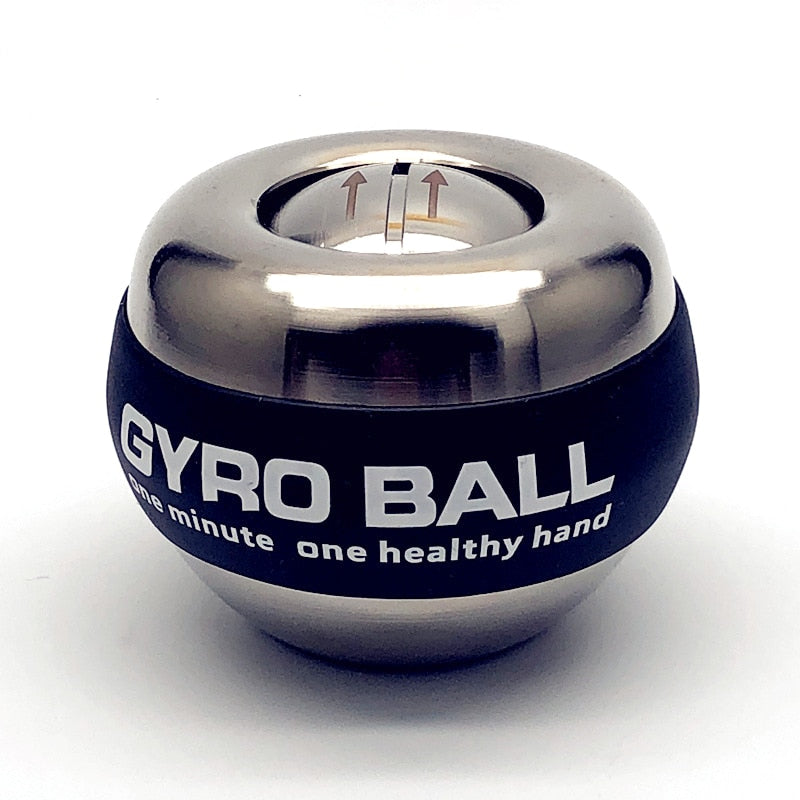 gyro ball silver stress management device