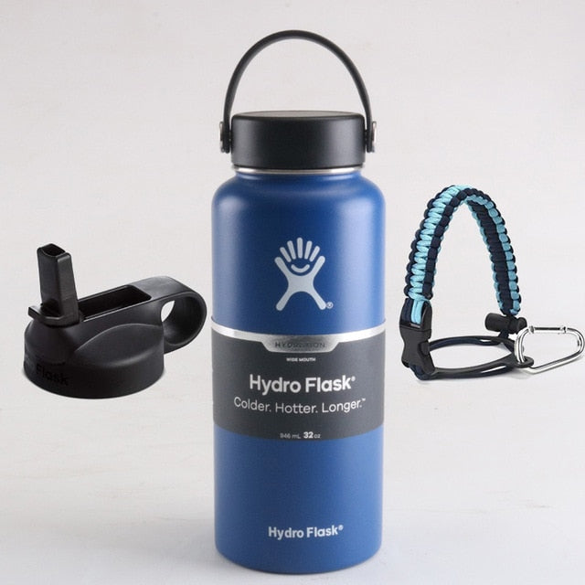 hydro flask blue accessories