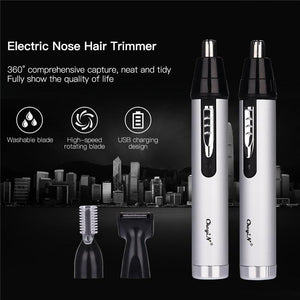 Nose Hair Trimmer | Effective Hair Removal For Ears | 3 in 1 Kit