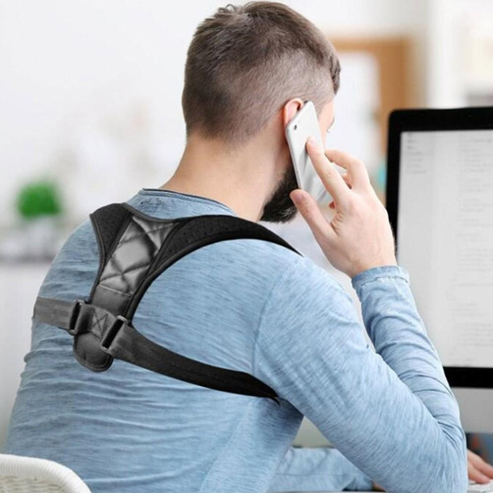 Posture Corrector Designed For Men | Comfortable To Wear All Day Long - Go Young!