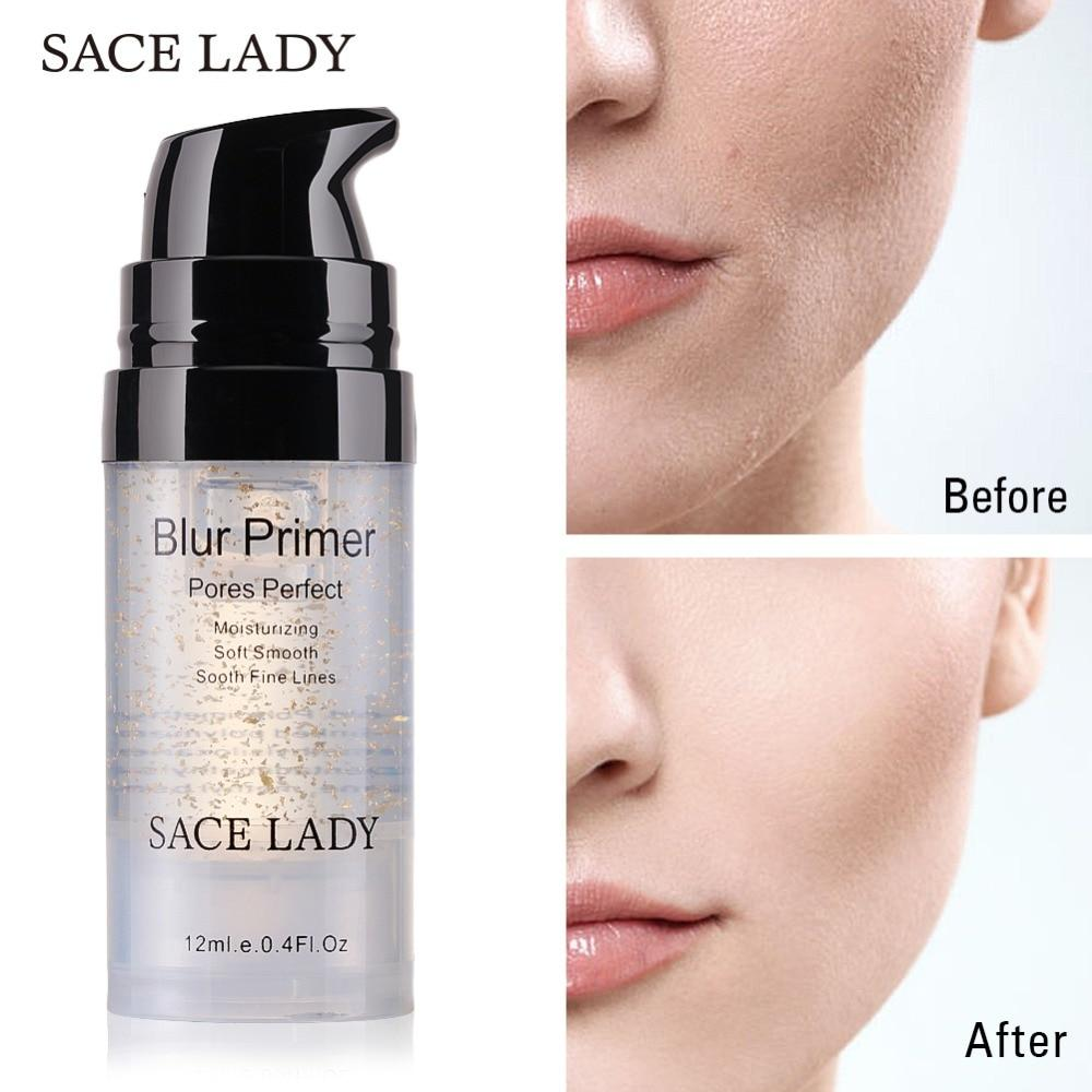 Makeup Primer Before and After
