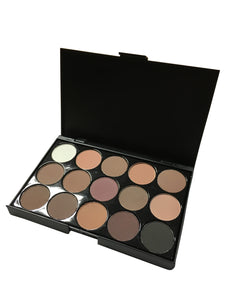 15 Colors Eyeshadow Mini Palette E15-1