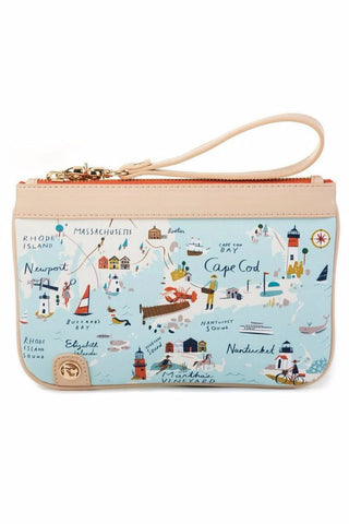 Northeastern Harbors Wristlet