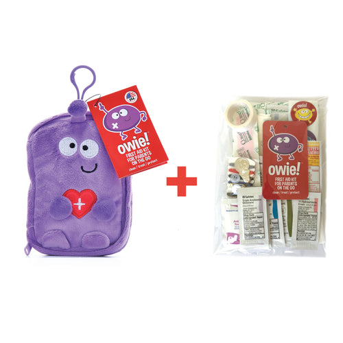 Owie! Essential First Aid Kit & Refill Kit Bundle - owiefirstaid ,  - First Aid Kit