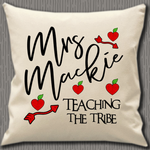 Personalised Cushion Cover~Teaching The Tribe