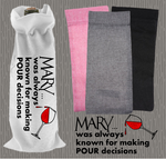 Personalised Jute Wine Bag~Pour Decisions