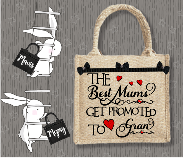 Personalised Jute Bag~The Best Mums