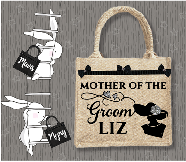 Personalised Jute Bag~Mother Of The Groom