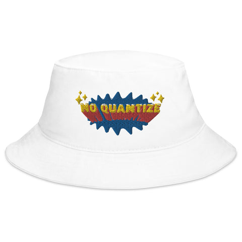 No Quantize Logo Bucket Hat