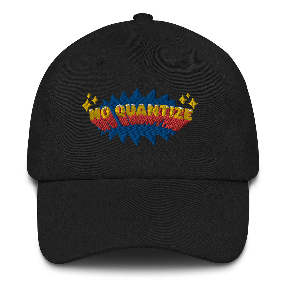 No Quantize Logo Dad hat