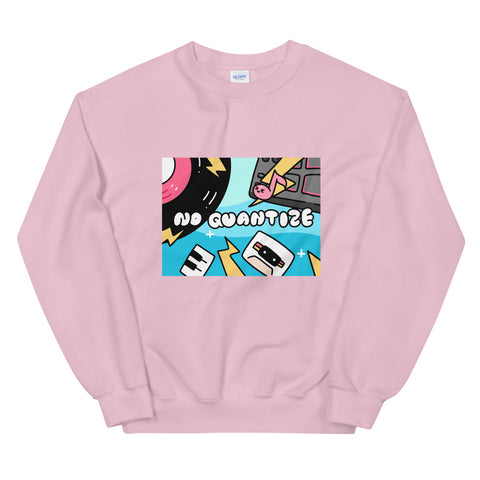 NO QUANTIZE X TAKA ILLUSTRATION COLLAB Unisex Sweatshirt