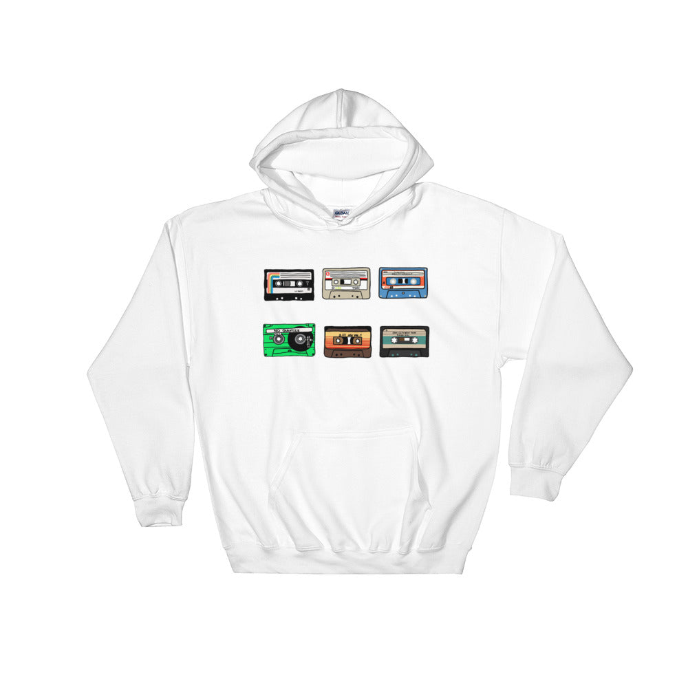 6 Cassette Tapes Hoodie